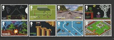 GB 2020 Video Games Stamps MNH