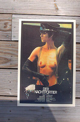 The Night Porter DER NACHTPORTIER Lobby Card Movie Poster