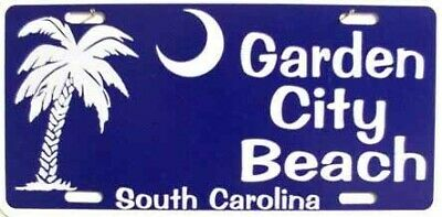 Garden City Beach South Carolina LICENSE PLATE SIGN