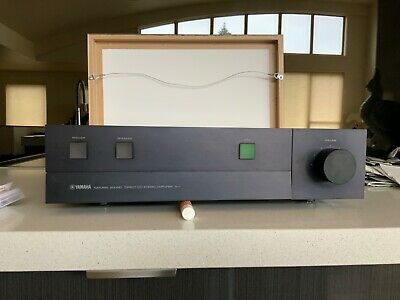 Yamaha A-1 DC Amplifier. Black bought new in 1981.