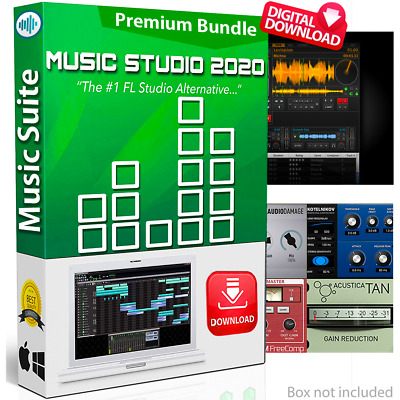 MUSIC STUDIO 2020 | Professional Music Production Software Suite | Windows/Mac