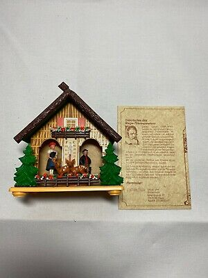 Vintage German Riege-Thermometer Cuckoo Clock Style House A3