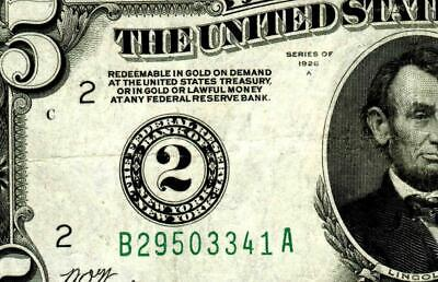 $5 1928 A :::: New York ::::  Federal Reserve Note ** MORE CURRENCY FOR SALE **