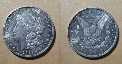 1921-P Morgan Dollar US Silver $1dollar Coin