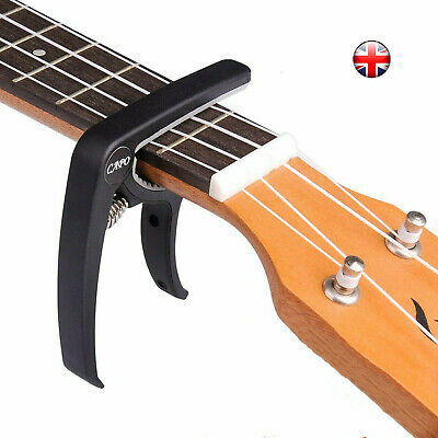 Guitar Capo Trigger Clamps Banjo SILV For Acoustic Electric Classical Guitars