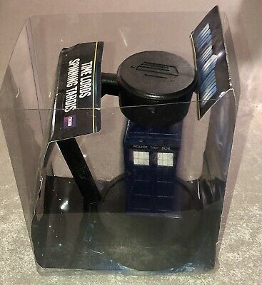 DR WHO 'TIME LORDS SPINNING TARDIS'. Untested and never used. Floats & Spins