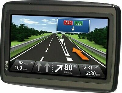 Gps Tomtom Via Live Navigation Automobile Cartes France Europe + Alertes Radars