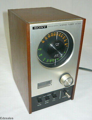 Vintage Sony Audiophile ST-80F Solid State Stereo Tuner