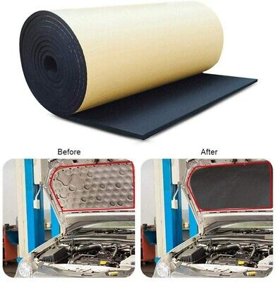 5m Roll Car Sound Proofing Deadening Auto Insulation Closed Cell Foam 3mm Thick