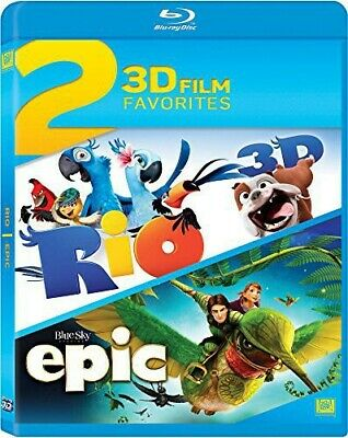 Rio / Epic Double Feature (2014, Blu-ray NEUF) (RÉGION A)