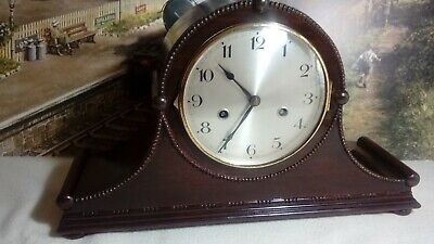 Junghans Napoleon Hat style striking clock in serviced working condition