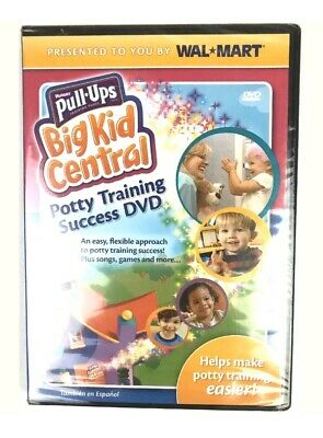 Huggies Pull-Ups Big Kid Central- Potty Training Success, Dvd