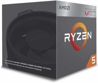 AMD Ryzen 5 2400G 3.6GHz Quad-Core 4MB AM4 Boxed Processor Wraith Stealth Cooler