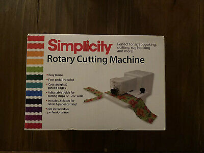 Simplicity 881950W Rotary Cutting Machine - Discontinued Item!