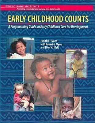 Early Childhood Counts: A Programming Guide on E... by Judith L. Evans Paperback