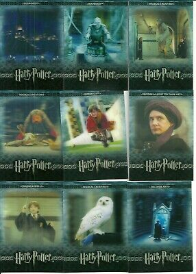 2008 Artbox The World of Harry Potter 3D 2nd Edition (series 2) set + bonus