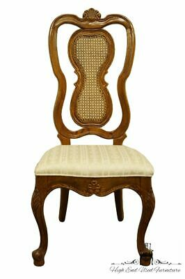 UNIQUE FURNITURE MAKERS Italian Provincial Cane Back Dining Side Chair
