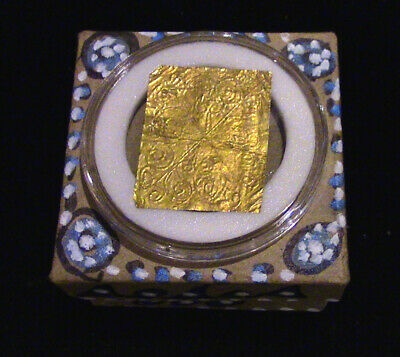 Past Life Relic - Your 433 BC Ancient Gold Repousse Comes Home to You!
