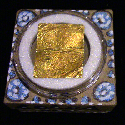Past Life Relic - Your 433 B.C. Ancient Gold Repousse Comes Home to You!