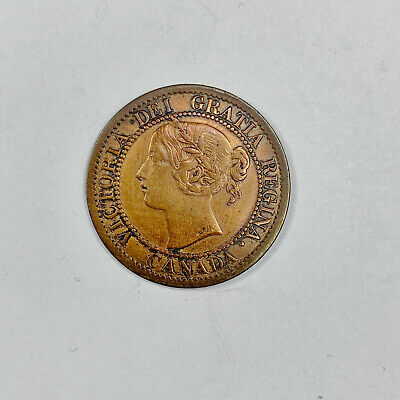 Canada 1859 Large Cent Cleaned