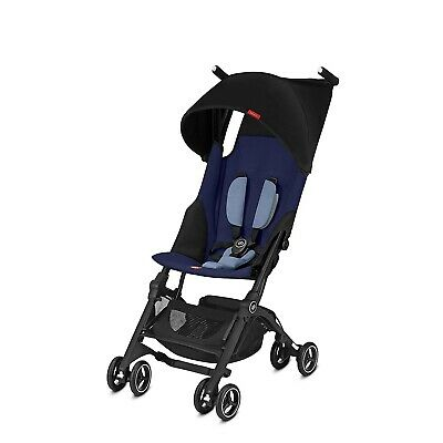 Goodbaby GB Pockit Plus Compact Stroller in Sapphire Blue NEW!!