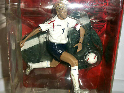 David Beckham FT Champs 6 Inch Action Figure England Boxed New FOOTBALL