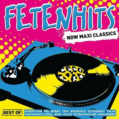 Various - Fetenhits NDW Maxi Classics - Best of 3CD NEU OVP