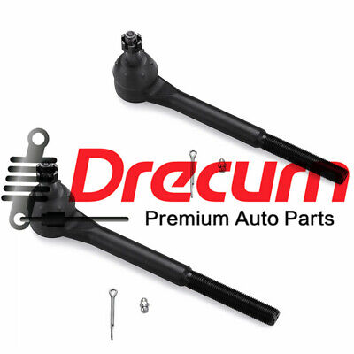 2PC Front Outer Tie Rod End Links Pair For Chevrolet Blazer S10 S15  - RWD