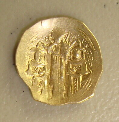 AD 1282-1328 Andronicus II Palaeologus Ancient Byzantine Gold Hyperpyron VF