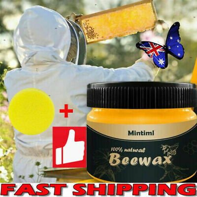 AU Wood Seasoning Beewax Complete Furniture Solution Care Polish Beeswax Paste H