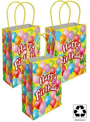 LITTLE DINOSAUR BIRTHDAY PARTY BAGS ~ RECYCLABLE LOOT TREAT FAVOUR GOODY BAG