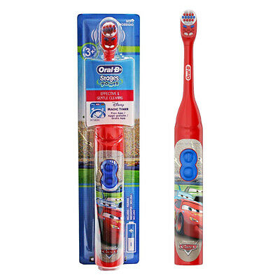 Oral-B Kids Stages Kids Childrens Electric Toothbrush with Timer DISNEY CARS