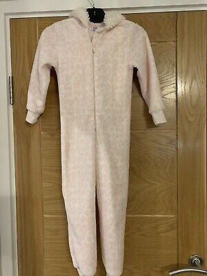 Girls All In One PJs From Florence & Fred - Age 5-6 Years