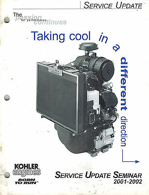 Kohler 2001-2002 Engines Update  Service Manual