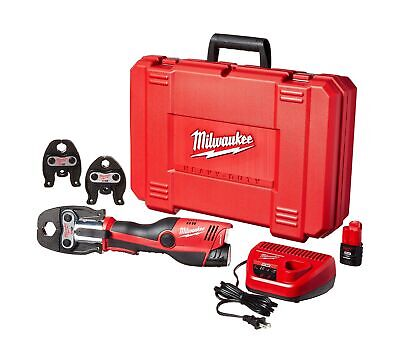 "Milwaukee 2473-22 M12 Force Logic Press tool 1/2"" - 1"" Kit"