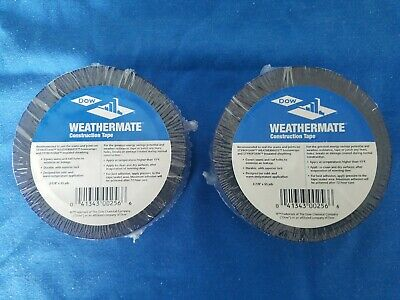 """Dow Weathermate Construction Tape 267819 1-7//8/"""" X 55 yards"""
