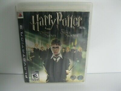HARRY POTTER and the Order of the Phoenix PS3 game