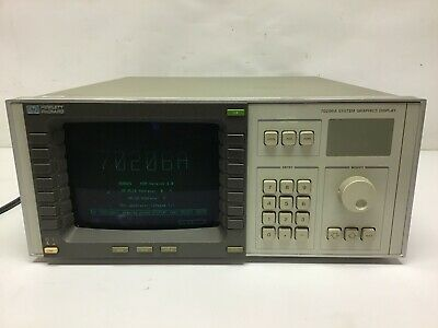 Hp Agilent 70206A System Graphics Display TESTED
