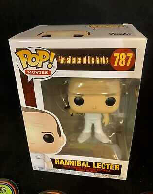 Funko Pop Movies #787 Hannibal Lecter Silence of the Lambs In Hand