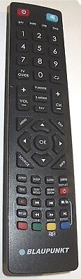 Original Blaupunkt 3D LED TV Remote for B32B133T2CSHD 32/133O-WB-11B-GBQ