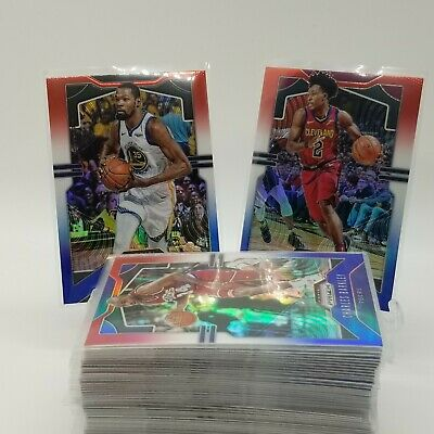2019-20 Prizm Red White Blue Basketball Cards Complete Your Set. PICK 1