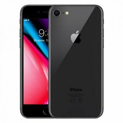 Apple iPhone 8 A1905 256GB 12MP iOS Mobile Smartphone Space Grey Unlocked###
