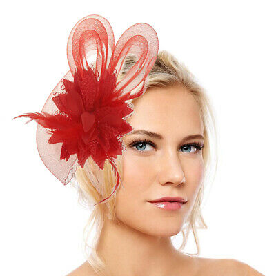 Fascinator Hat Wedding Races Prom Ascot Occasion Wholesale Headpiece Clip Band m