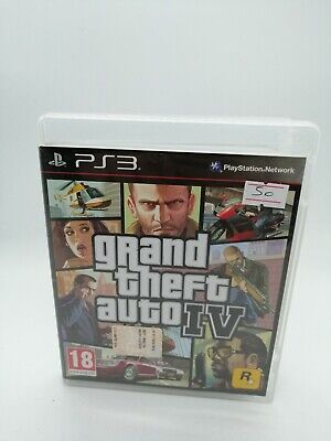GTA 4 grand theft auto IV PS3 ita italiano videogioco per  PlayStation 3 gioco