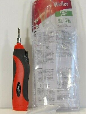 Weller BP865MP Light Duty 6-8 Watts Battery Powered Soldering Kit: Cordless