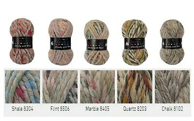 Cygnet Seriously Chunky With Wool Knitting Yarn - Choice of 5 Lovely New Shades
