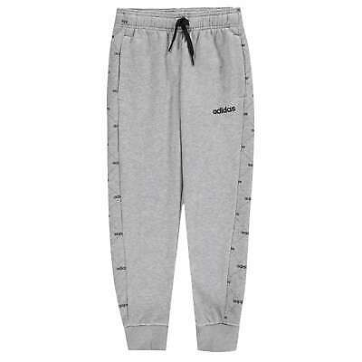 adidas All Over Stamp Panel Sweatpants Youngster Boys Fleece Jogging Bottoms