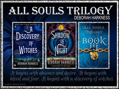 All Souls Trilogy by Deborah Harkness (1-3) Complet Collection ( E-ß00K )