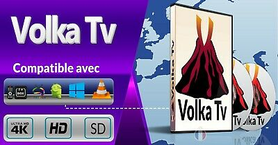 Code De Recharge IPTV Abonnement VLC/ Android /Smart TV M3U