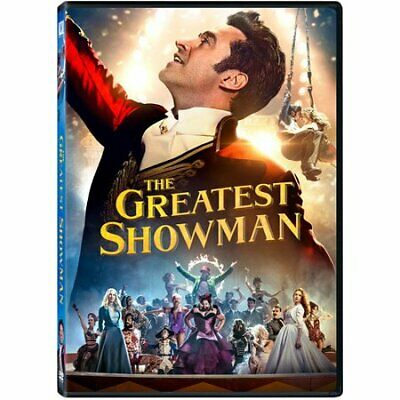 The Greatest Showman (DVD, 2019 - Hugh Jackman) New & Sealed FREE Shipping!